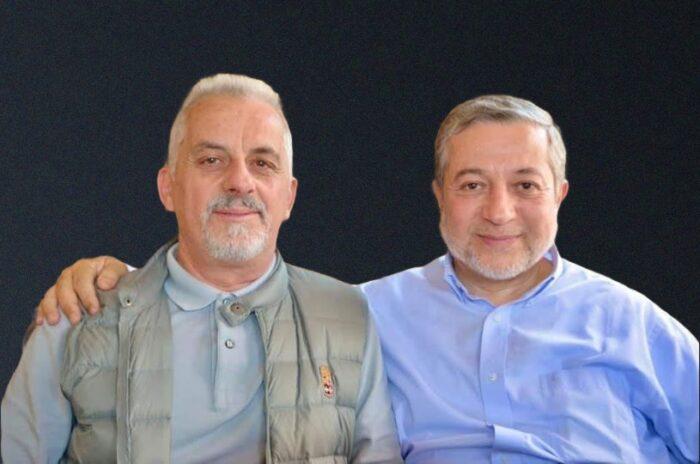 A sinistra nella foto Umar Frigo